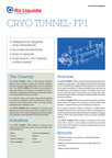 Cryo Tunnel-FP1 equipment sheet cover