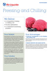 Air Liquide Freezing and Chilling offer sheet