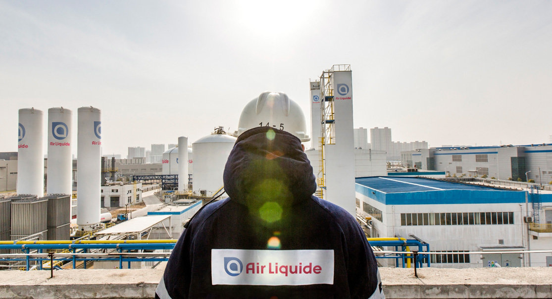 Air Separation Unit (ASU) operated by Air Liquide in China