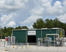 Air Liquide biomethane production unit in Walnut, Mississippi