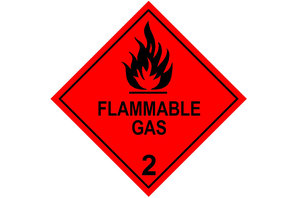 NTC ADGC: Model 2.1 - Combustible or Flammable Gases, including Pyrophoric Gases symbol