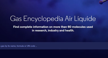 Gas Encyclopedia by Air Liquide homepage