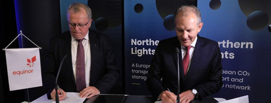 Northern Lights Project signing