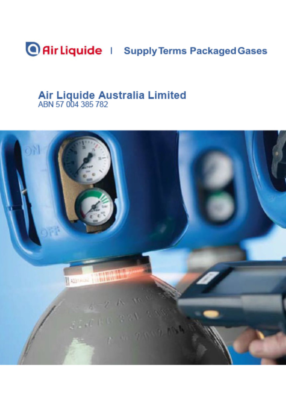 Air Liquide Supply Terms June 2019 cover